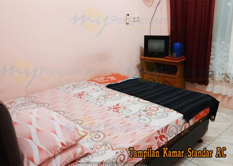 Tampilan Kamar Standar Ac Single Bed