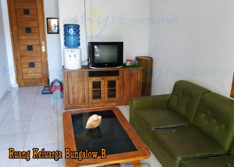 Tampilan Ruang Keluarga Bungalow B